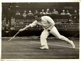 Wimbledon Je Gregory England Ft Hunter TENNIS 21 * 16 CM  Fonds Victor FORBIN (1864-1947) - Deportes