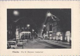 Aero Club Viterbo - Concorso Nazionale Volo Libero 1963 - Via G. Marconi - Notturno (2) - H5269 - Viterbo