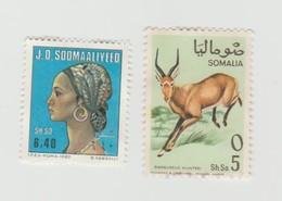 Somalie - Somalia - Lot 2 Timbres - Année 1982 Mi SO 330 - Année 1968 Mi SO 132 - Somalia (1960-...)