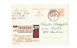 Publibel 2152 - TOUBAU - 0267 - Stamped Stationery