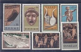190031474  GRECIA  YVERT   Nº  685/91  */MH - Grecia