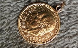 Mexico 2.50 Peso 1945 Gold *900 - Mexico