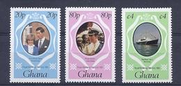 190031477  GHANA  YVERT   Nº  708/10  **/MNH - Ghana (1957-...)