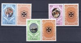 190031479  GHANA  YVERT   Nº  708/10  **/MNH - Ghana (1957-...)