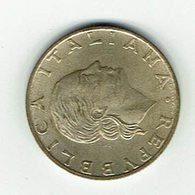 Italien 1989 // 200 Liere // Umlaufmünze - 1946-… : République