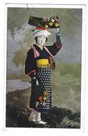Corée - Jeune Femme En Costume Traditionnel - Carte Ayant Voyagé - Korea, South