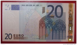 20 EURO Spain M021I2 Serie V Trichet Perfect UNC - EURO
