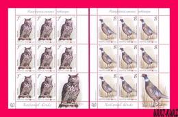 TRANSNISTRIA 2019 Europa CEPT Theme Nature Fauna National Birds Owl Pheasant 2 Sheetlets MNH - Hiboux & Chouettes
