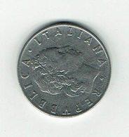 Italien 1955 // 50 Liere // Umlaufmünze - 1946-… : République