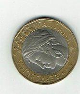 Italien 1997 // 1000 Liere // Umlaufmünze - 1946-… : République