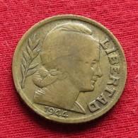 Argentina 10 Centavos 1944 KM# 41  Argentine Argentinie - Argentine