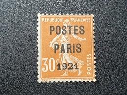 Préoblitéré N° 29 Etat Oblitéré (Neuf Sans Gomme)  TB - 1893-1947