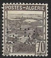 Algérie-N°164 Perforé B.B-Ancoper B.B 4 - France