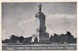 Buenos Aires, Jardines De Palermo, Monumento Espanol (pk60430) - Argentine