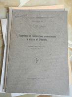 6) DELUPIS ESPERIENZE CONCIMAZIONE AMMONIACALE E NITRICA AL FRUMENTO 1932 OPUSCOLO 19 PAGINE - Books, Magazines, Comics