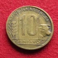 Argentina 10 Centavos 1947 KM# 41  Argentine Argentinie - Argentine