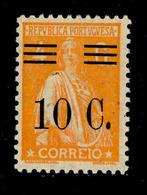 ! ! Portugal - 1928 Ceres W/OVP 10 C - Af. 457 - No Gum - 1910 - ... Repubblica