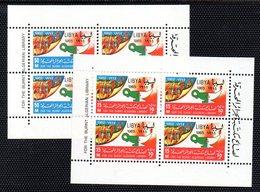 QUS - LIBIA LYBIA 1965 , BF N. 10/11 Biblioteca Algeri  ***  MNH (2380A). - Libyen