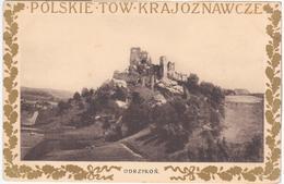 Poland Polska, Odrzykon Castle Zamek, Polskie Tow Krajoznawcze - Poland
