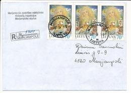 Registered Domestic Cover - 13 September 1999 Marijampolė - Lituania