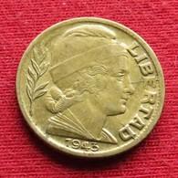 Argentina 5 Centavos 1943 KM# 40  Argentine Argentinie - Argentina
