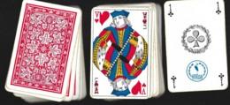 1 Jeu De 52 Cartes à Jouer Playing Cards Complet PAS DE JOCKER HERON Dans Sa Boîte En Plastique 22 - Cartes à Jouer Classiques