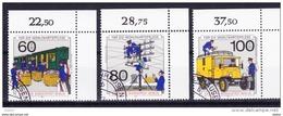 Duitsland Berlijn 1990 837/39 G, Zeer Mooi Lot Krt 3654 - Timbres