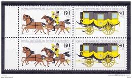 Duitsland 1985 Nr 1087/88 Samenhangend **, Zeer Mooi Lot Krt 3656 - Timbres