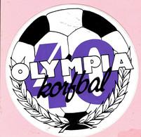 Sticker - OLYMPIA - Korfbal - Autocollants