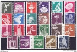 Duitsland Berlijn 1975 Volledige Reeks **, Zeer Mooi Lot Krt 3597 - Timbres