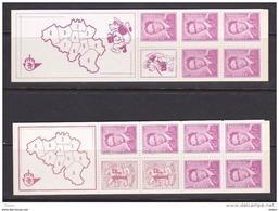 Belgie Boekje 1 & 2 **, Zeer Mooi Lot 3688 - Francobolli