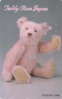 Télécarte Japon / 110-016 - Jouet - OURS NOUNOURS - STEIFF TEDDY BEAR * GERMANY Rel. ** Japan Phonecard - 749 - Games