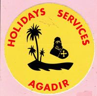 Sticker - HOLIDAYS SERVICES - AGADIR - Autocollants