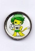 Football, Soccer, Calcio, South Africa 2010 World Soccer Cup, Mascot Logo Pin - Football