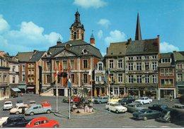Belgique Huy Animée Hôtel De Ville Grand'Place Voitures - Huy
