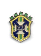 Football, Soccer, Calcio, Brasil Confederation, Logo Pin - Football