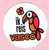 Sticker - Ik Reis VASCO - Autocollants