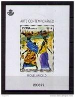 ESPAÑA 2014 - ARTE CONTEMPORANEO - MIQUEL BARCELO - BLOCK - EDIFIL Nº 4898 - 2011-... Unused Stamps