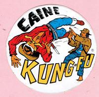 Sticker - CAINE - KUNG-FU - Autocollants