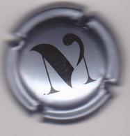 Capsule Champagne VEZIEN Marcel ( 125a ; Gris-bleuté Et Noir ) {S20-19} - Champagne