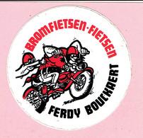 Sticker - BROMFIETSEN - FIETSEN - FERDY BOUCKAERT - Autocollants