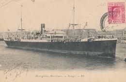 CPA - France - Thèmes - Bateaux - Messageries Maritimes - Gange - Paquebots
