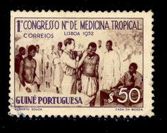 ! ! Portuguese Guinea - 1952 Tropical Medicine - Af. 266 - Used - Portuguese Guinea
