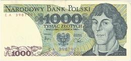 Polonia - Poland 1.000 Zlotych 1-6-1982 Pk 146 C UNC - Polonia