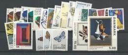 1993 MNH Denmark, Dänemark, Year Complete, Postfris - Danimarca