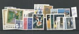 1991 MNH Denmark, Dänemark, Year Complete, Postfris - Danimarca