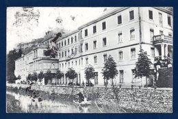 25. Guillon-les-Bains. Etablissement Thermal. Barque Sur Le Cusancin. 1910 - Baume Les Dames