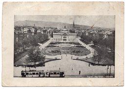 1945, YUGOSLAVIA, CROATIA, WWII, MILITARY CARD, ZAGREB, CENSORED, TRAM - Croatia