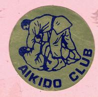 Sticker - AIKIDO CLUB - Autocollants