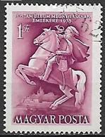 UNGHERIA 1955 INAUGURAZIONE DEL MUSEO POSTALE YVERT. 1178 USATO VF - Ungheria